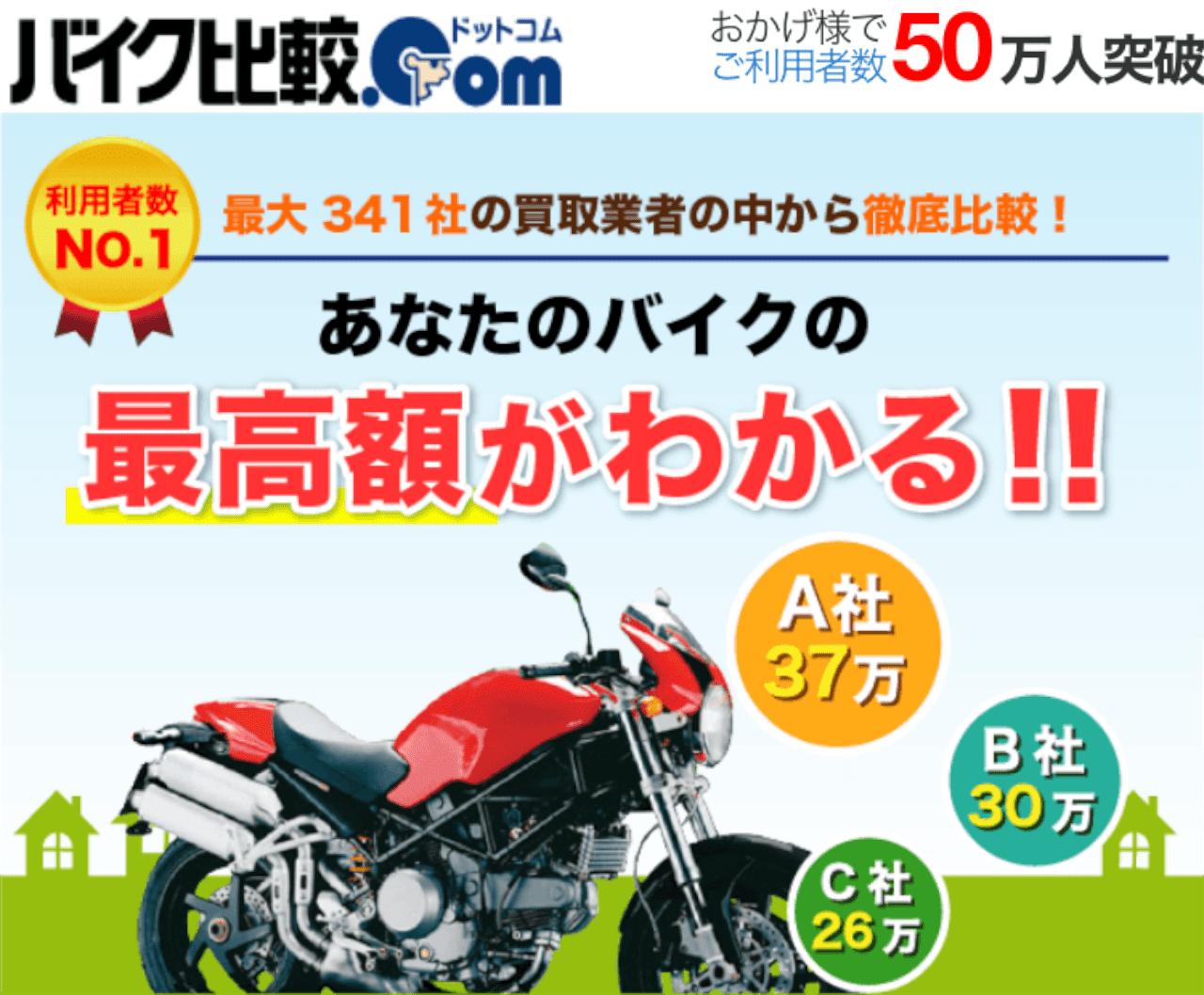 バイク比較.com一括査定